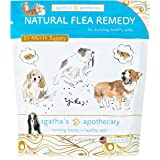 Agatha's Apothecary Natural Flea Remedy – Non-Toxic Organic Flea & Tick Prevention and Treatment for Dogs – 100% Safe For Pets And People – 175 Scoops