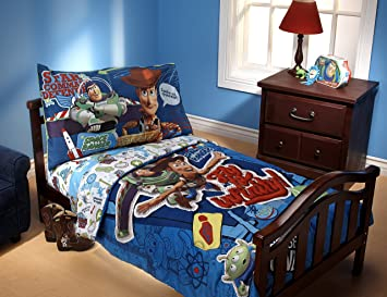 disney toy story fly to infinity toddler set - Toy Story Toddler Sheets