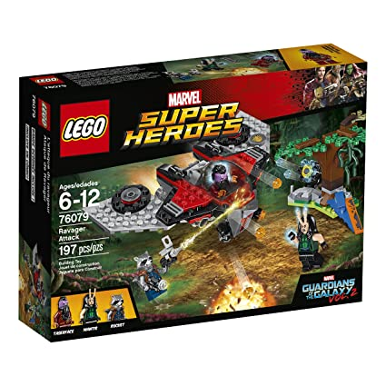 Amazon.com: LEGO Marvel Super Heroes Ravager Attack 76079 Superhero ...