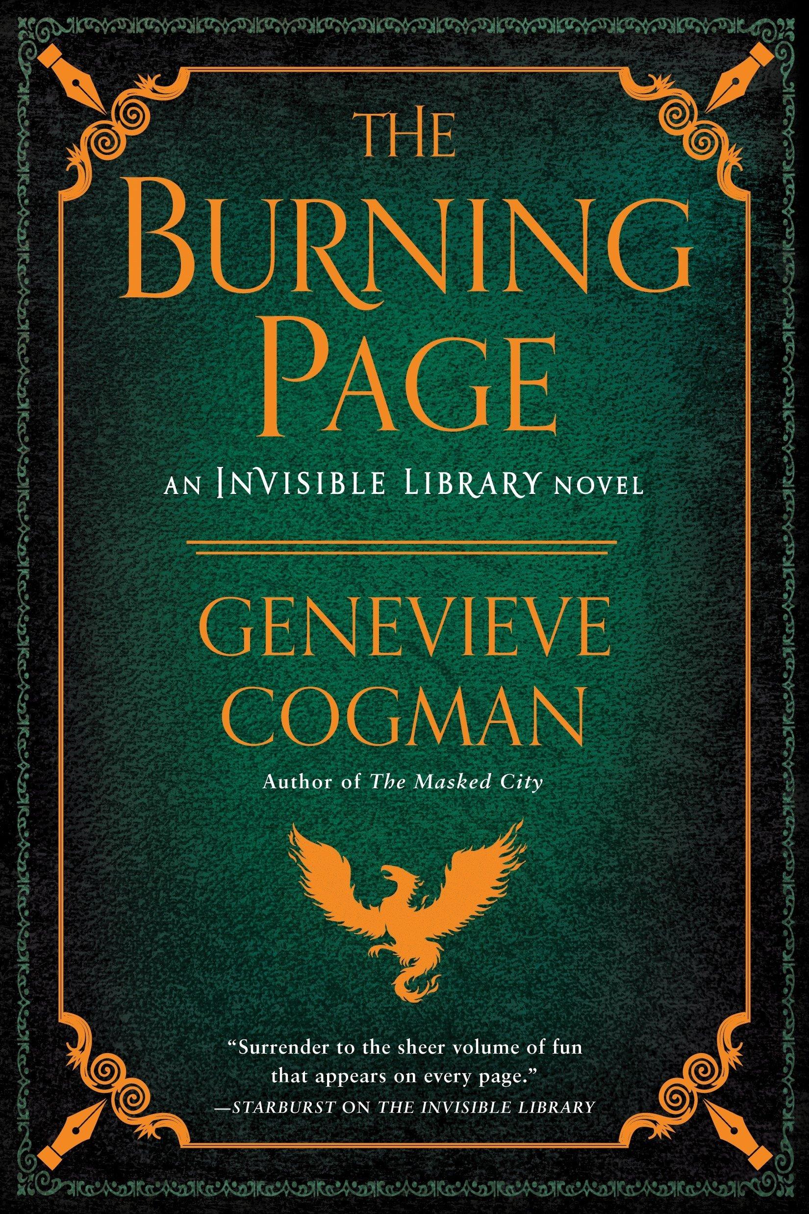 The Burning Page: Amazon.ca: Cogman, Genevieve: Books