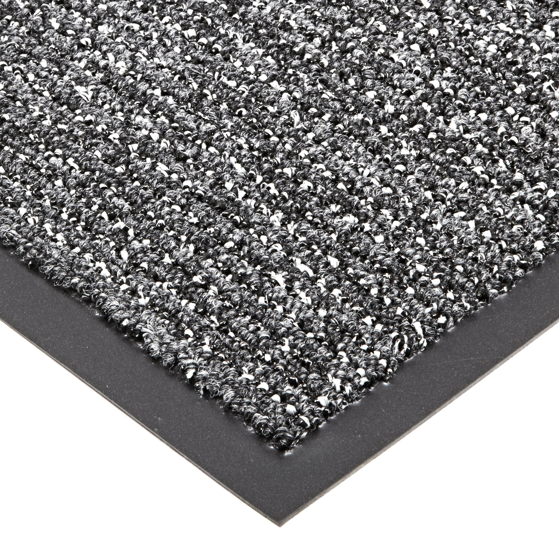 Notrax 146 Encore Entrance Mat, for Inside Foyer Area, 3' Width x 10' Length x 5/16'' Thickness, Gray