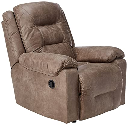 Exceptionnel Ashley Furniture Signature Design   Rotation Recliner Chair   Manual  Reclining   Smoke Gray Brown