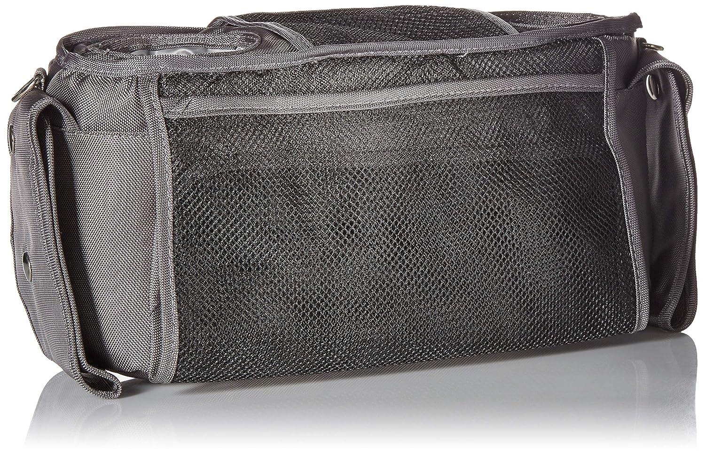 Grey Universal Baby Stroller Organizer Bottle Cloth Diapers Holder Hanging Storage Bag