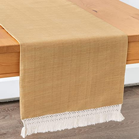 Serape Blanket Table Runner 86inch x 14inch Mexican Table Runner Mexican Party Wedding Decorations Beige
