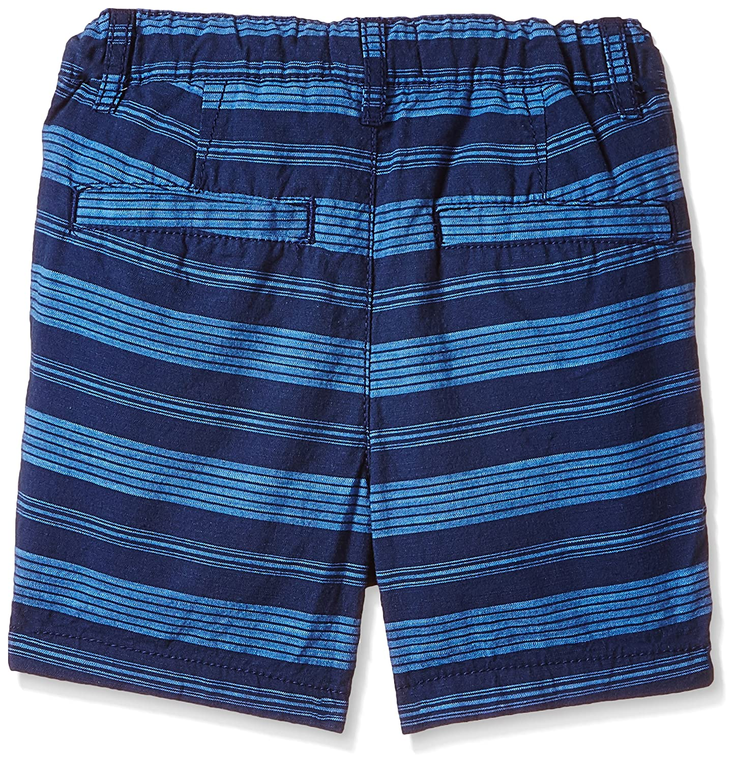 The Childrens Place Unisex-Baby His Lil Striped Flat Front Short