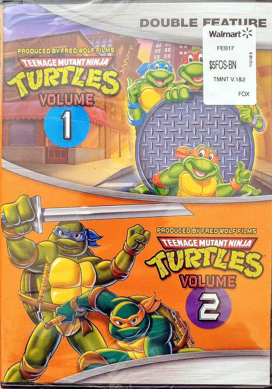 Teenage Mutant Ninja Turtles 1 & 2 [USA] [DVD]: Amazon.es ...