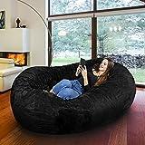 icon kenai cloud zweisitzer sitzsack in pelzoptik riesensitzsack in pelzoptik nerz amazon. Black Bedroom Furniture Sets. Home Design Ideas