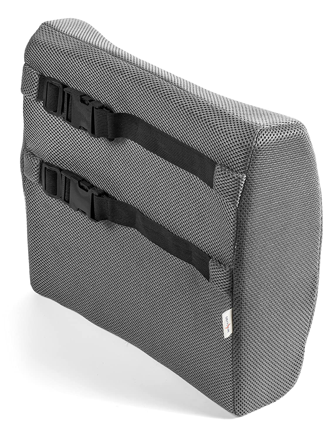 Amazon com black chair cushions - Amazon Com Easy Posture Memory Foam Lumbar Support Cushion Back Pillow For Office Chair Or Car Seat Gray Health Personal Care