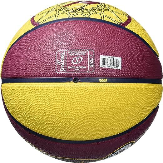 Spalding Cleveland Cavaliers - Pelota de Baloncesto, Color, Talla ...