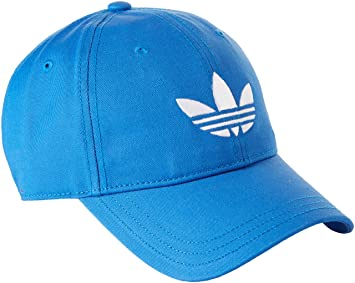 adidas Trefoil Cap - Gorra unisex, color azul/blanco, talla OSFM