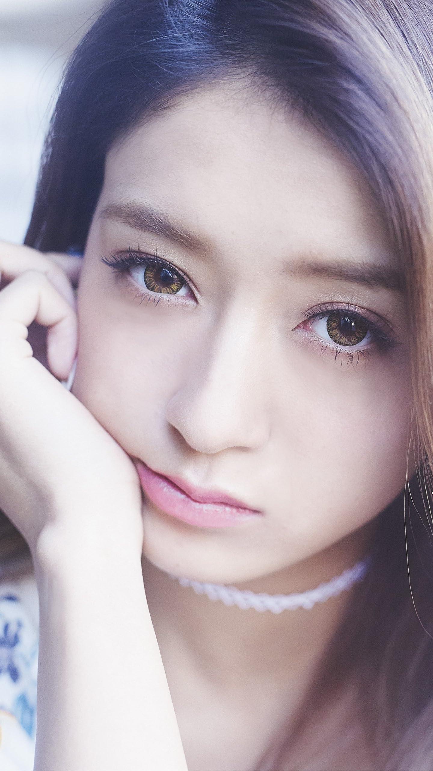 みちょぱ 池田美優 Hd 720 1280 壁紙 頬杖 女性タレント スマホ用画像
