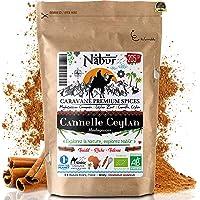 Canela Ceylan Bio Superior de Madagascar Polvo ⭐ 200 Gr ⭐ Nabür Gourmet - Premium, Certificado FR-BIO-01 - Fragancia…