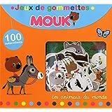Jeux de gommettes Mouk Les animaux du monde : 100 autocollants