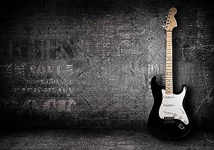 wandmotiv24 Fotomural Guitarra eléctrica Papel pintado no tejidoMural - Papel pintado con motivos