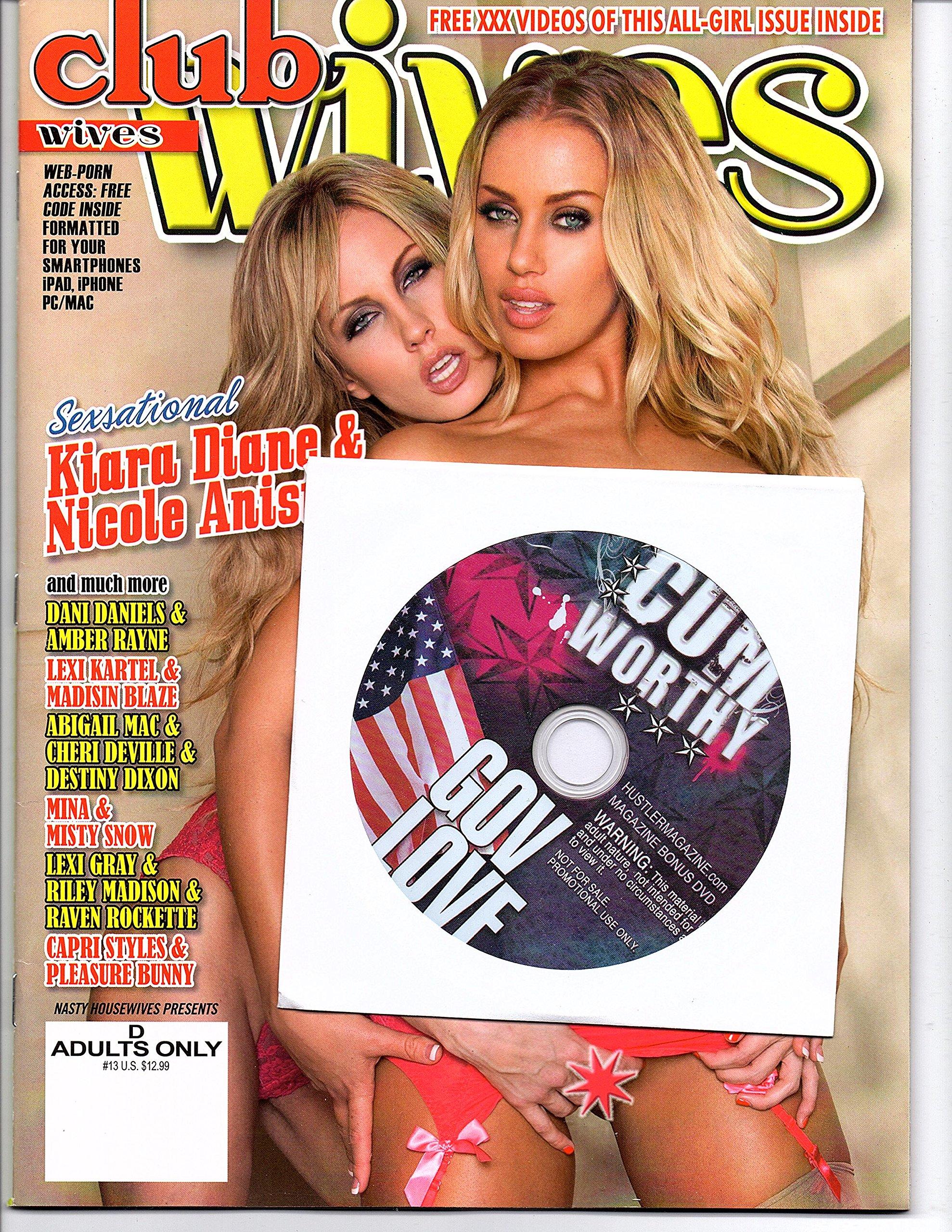 Read Online Kiara Diane Nicole Aniston Club Wives 13 2017 with Gov Love Bonus DVD PDF