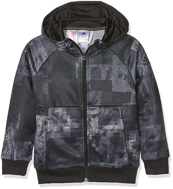 best sneakers promo code many fashionable adidas YB T AOP FZ HD - Sweatshirt for Boys: adidas: Amazon ...