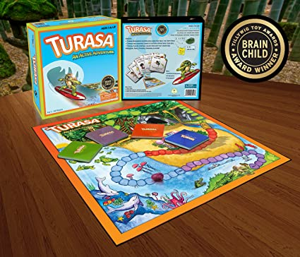 Turasa - Award Winning Yoga and Fitness Board Game Adventure