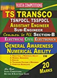 TS Transco AE, Sub-Engineer (Section-B) Electrical Civil Electronics General Awareness, Numerical Ability (20 Marks) E/M