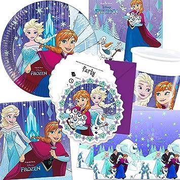 101 Juego de * Frozen Snow Flakes * Fiesta de cumpleaños ...