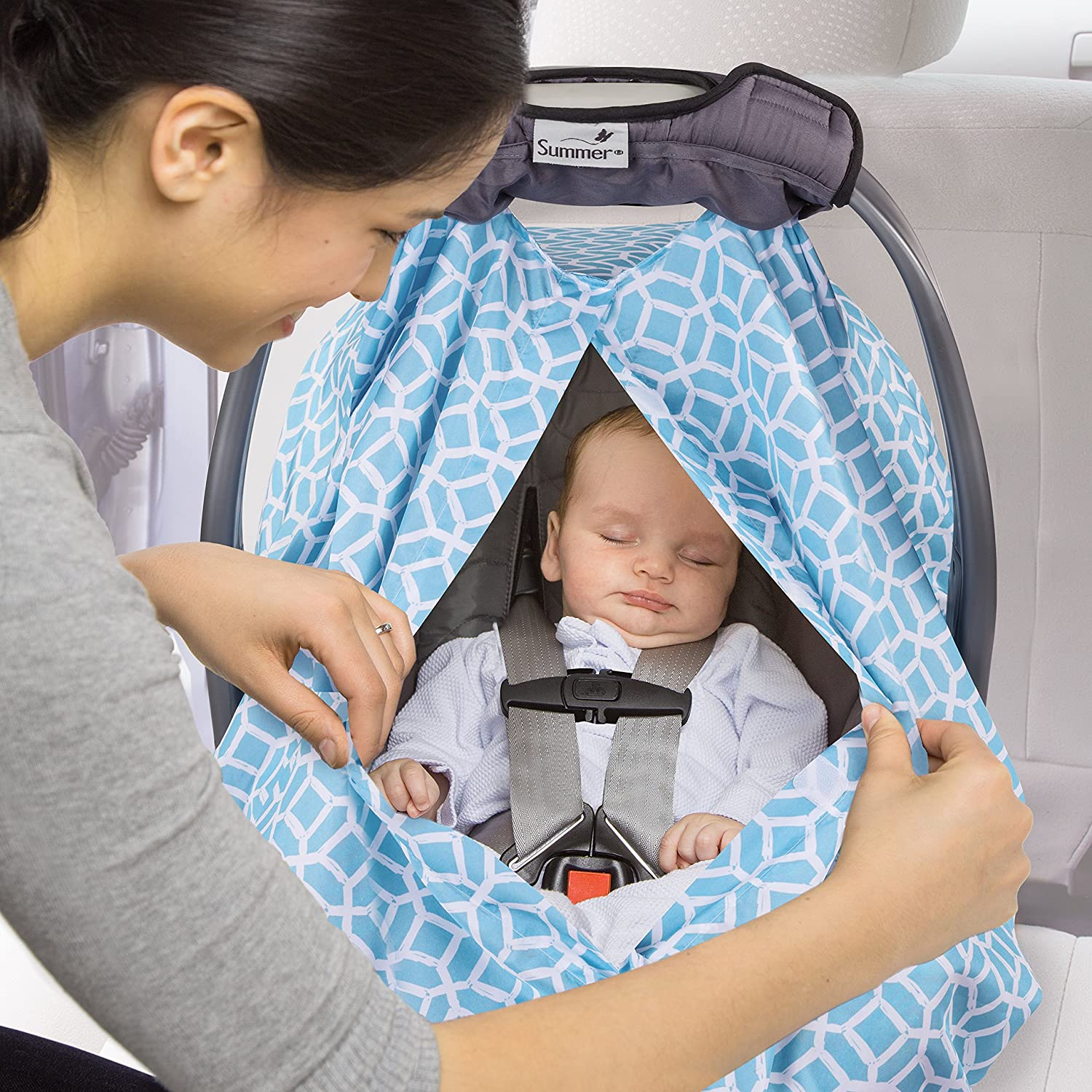 Amazon.com: Summer Infant 2-in-1 Carry and Cover Infant Car Seat ...