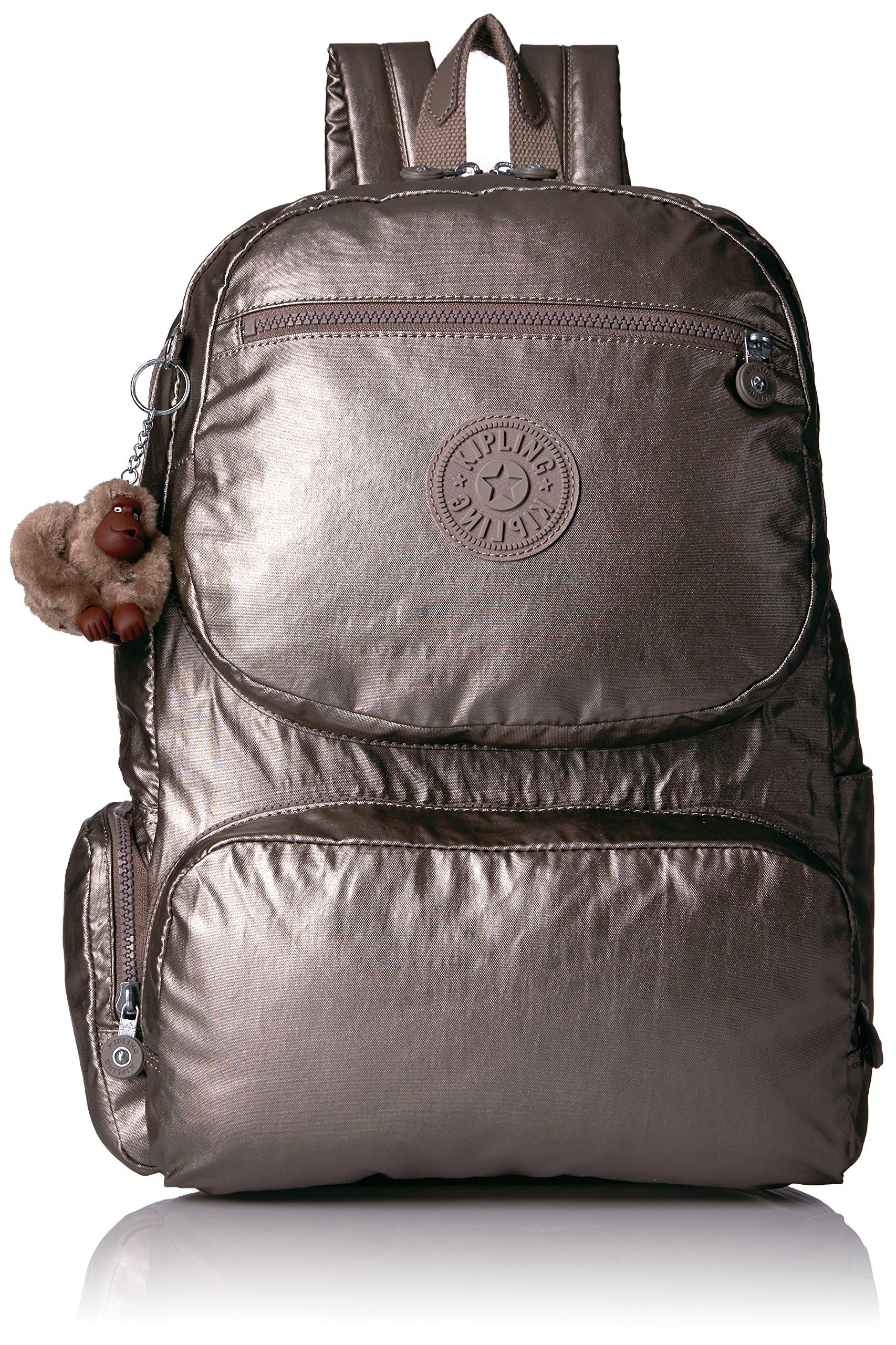 Kipling Women's Dawson Metallic Travel Backpack