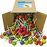 Chupa Chups Lollipops, Assorted Flavors in 6x6x6 Box Bulk Candy