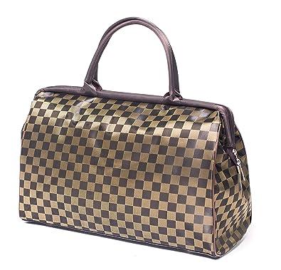 8107e040ac90 ilishop Women s Retro Vintage Style Travel Bag Shoulder Hobo Bag Purse  Handbag Tote New (Coffee