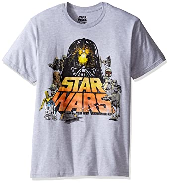 Mens Logo Gold Short Sleeve T-Shirt Star Wars Discount Codes Really Cheap High Quality Cheap Online 3UwrRg