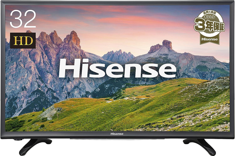 2位.Hisense 32V型液晶テレビ HJ32K3120