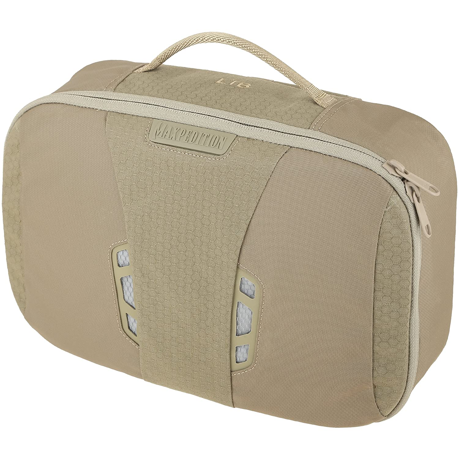 Maxpedition AGR Advanced Gear Research LTB Lightweight Toiletry Bag, Tan