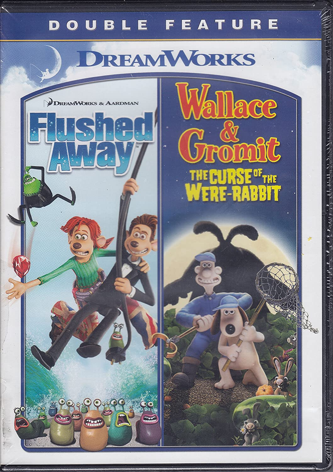 Amazon.com: Flushed Away/Wallace & Gromit: The Curse of the Were ...