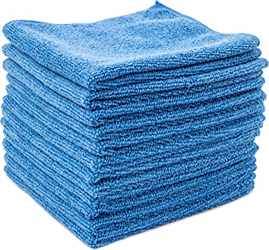 Mirrors No Scratch Dry Rite Best Magic Microfiber Cloth TV Bath Lint and Streak Free Auto Detailing Glass Professional Series Cleaning Towels for Kitchen Use Wet//Dry 12x12 1 Dozen