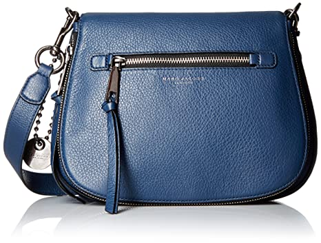 faa71c93e Image Unavailable. Image not available for. Color: Marc Jacobs Recruit  Saddle Crossbody Bag ...