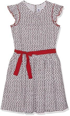 4b5cbdc6e47 Petit Bateau Bougie Robe Fille Multicolore (Marshmallow Multico 01) 12 Ans  (Taille