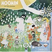Moomin by Tove Jansson Wall Calendar 2019 (Art Calendar) (Square)