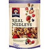 Quaker Real Medleys Granola, Summer Berry,10 Ounce (Pack of 6)