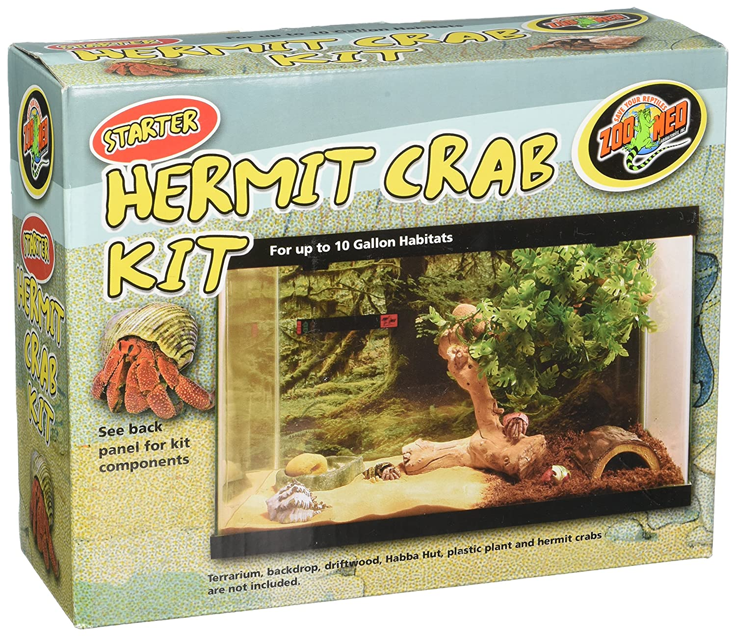 Zoo Med Laboratories SZMSCK1 Hermit Crab Kit TopDawg Pet Supply 97612251029