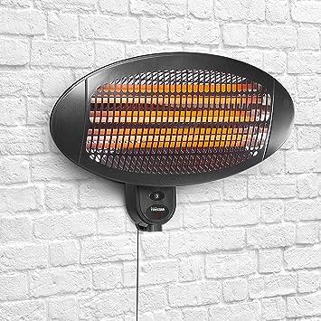 Tristar Calefactor de Exterior KA-5287-Calefactor eléctrico, Color, 2000 W, Negro: Amazon.es: Hogar