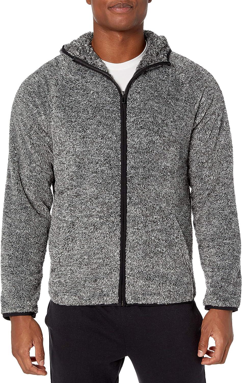 Peak Velocity Mens Sherpa Fleece Jacket Brand