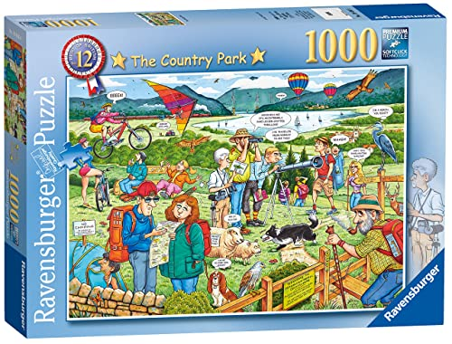 Ravensburger Best of British No.12 The Country Park, 1000pc Jigsaw Puzzle