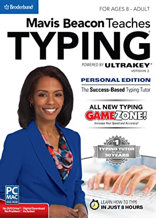 Mavis Beacon Teaches Typing Powered by UltraKey v2 - Personal Edition for Mac [Download]