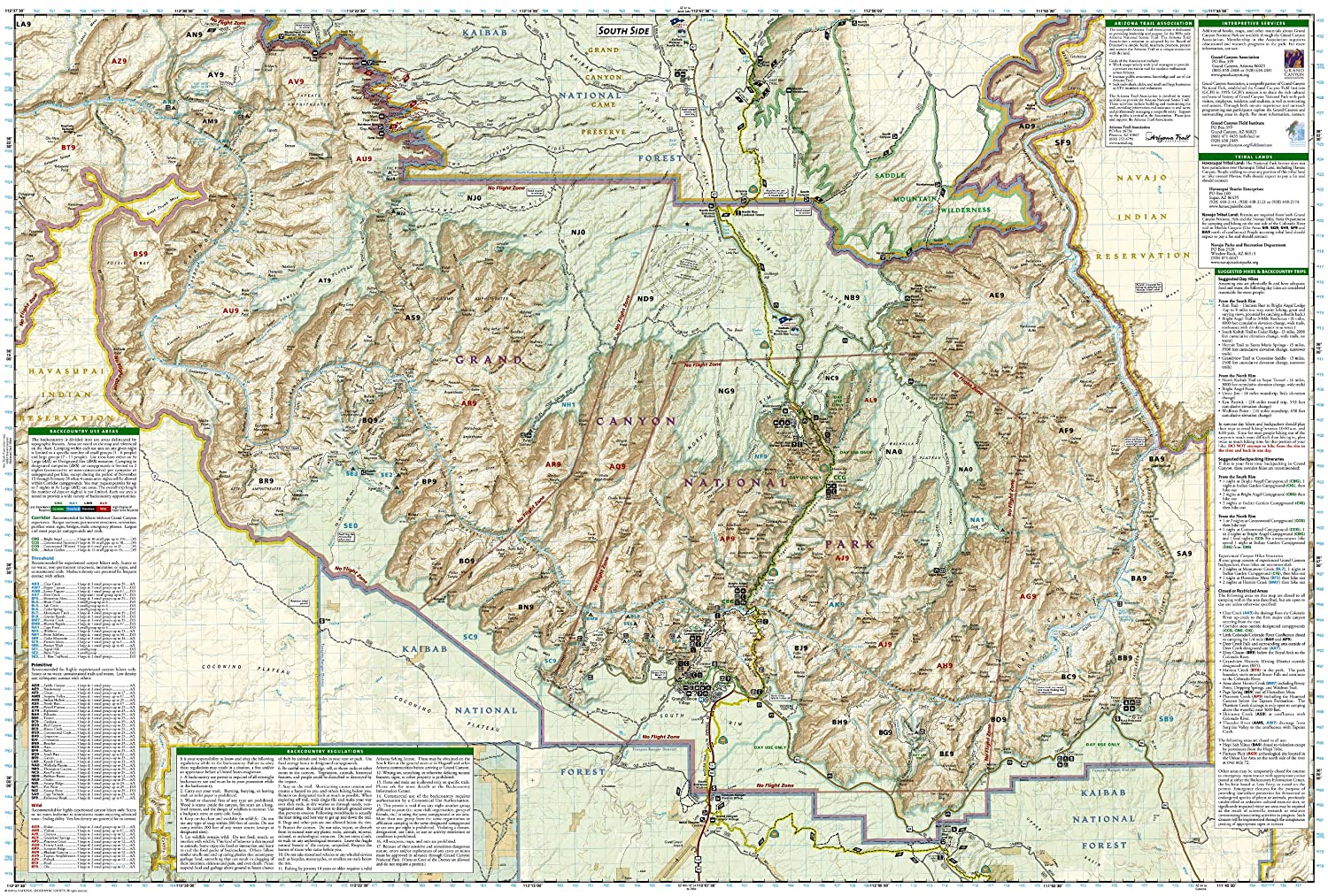 Amazoncom National Geographic Trails Illustrated Map 262 Grand