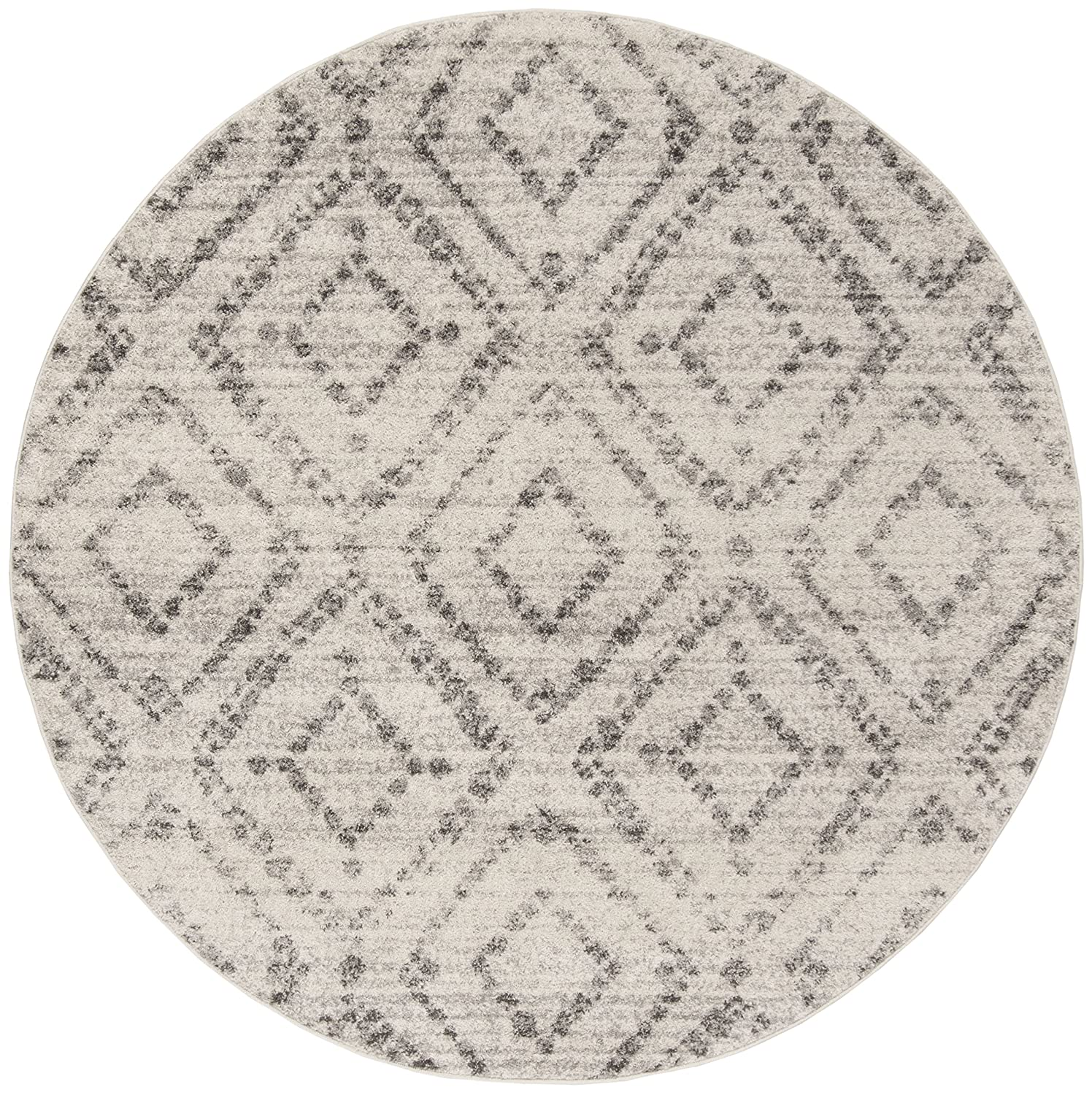 2 Feet 6-Inch by 4 Feet Safavieh Adirondack Collection ADR111C Black and Silver Indoor//Outdoor Area Rug