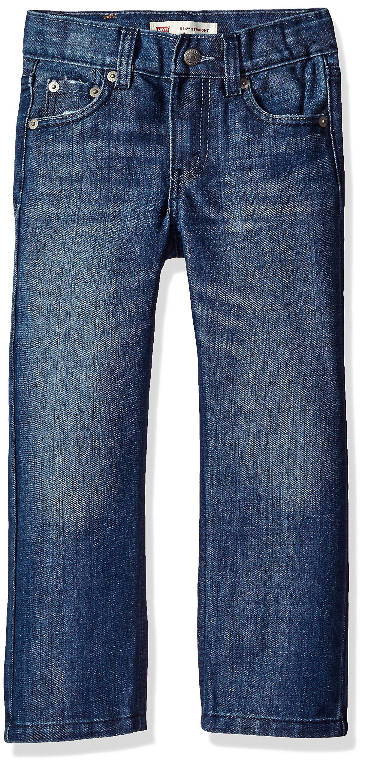 Levi's Boys' Big 514 Straight Fit Jeans, Blue Creek, 12