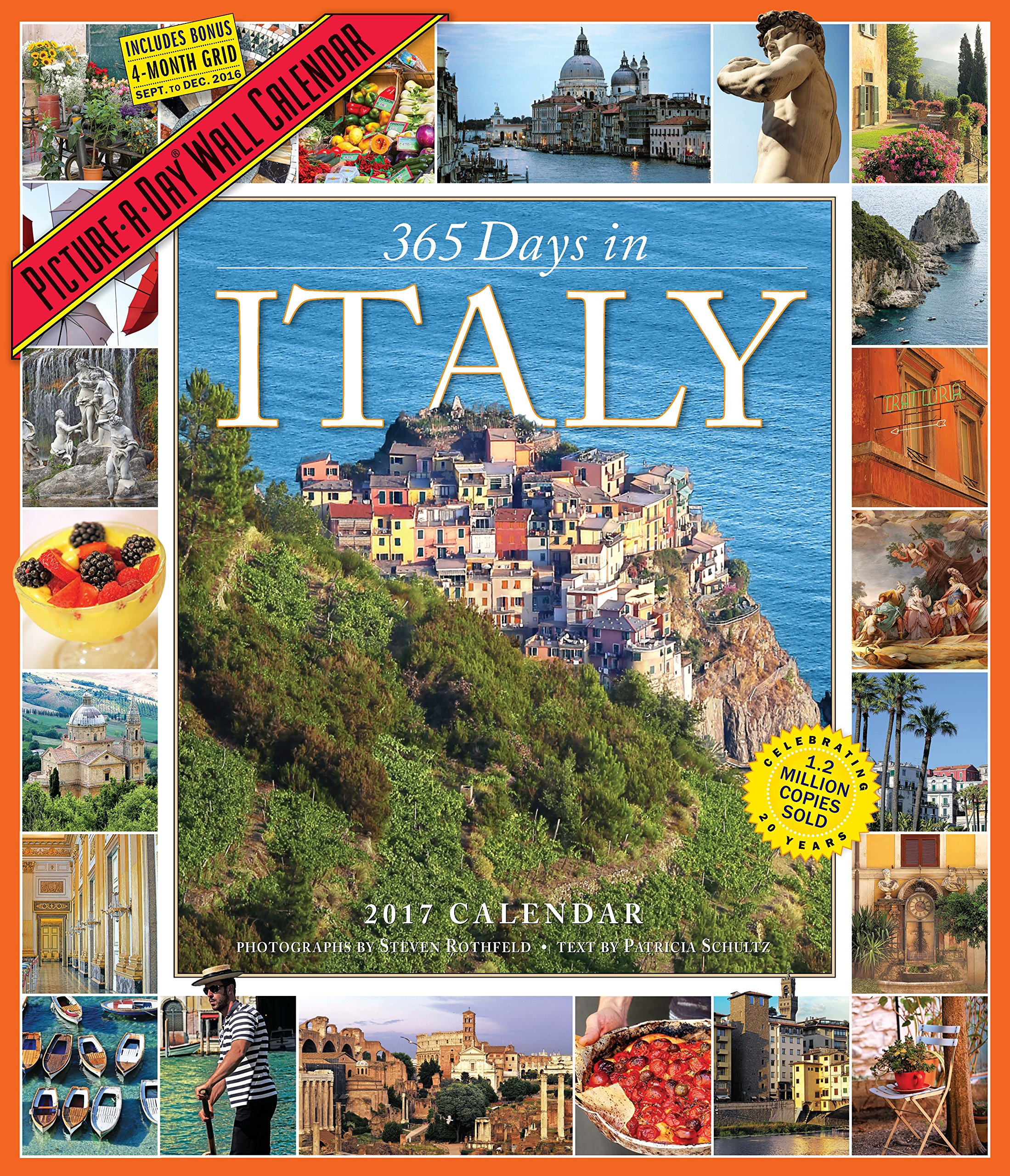 365 Days in Italy Picture-A-Day Wall Calendar 2017: Patricia Schultz:  9780761188155: Amazon.com: Books