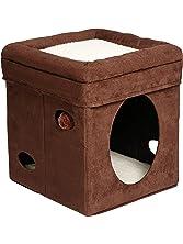 MidWest Curious Cat Cube, Cat House/Cat Condo
