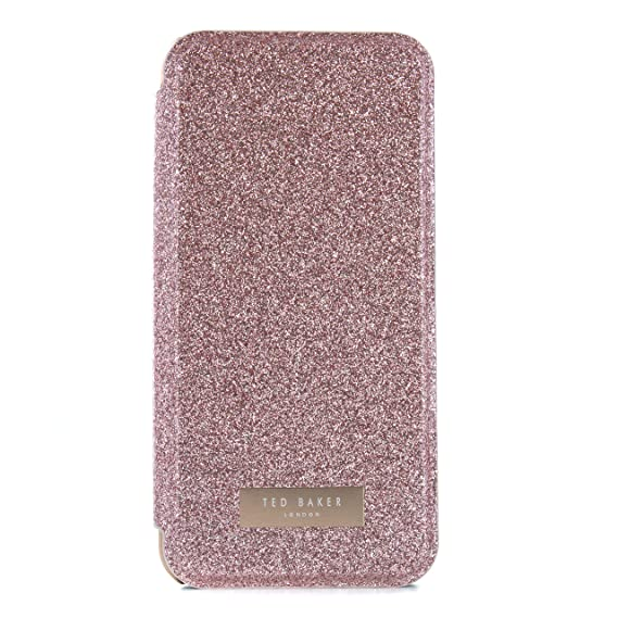 84902db41 Ted Baker 886075051440 SPRITSIE SS17 Folio Style Case for Apple iPhone 8  Plus 7 Plus - Rose Gold  Amazon.co.uk  Electronics