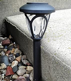 Amazoncom Ohuhu Garden Lights 8 pack Solar Path Lights for
