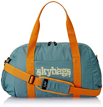 Skybags Fabric Grey Gym Bag (FSGRIBGRY)  Amazon.in  Bags d3222b1490a1b