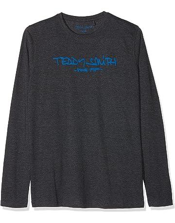 1ba0582c54a1e Teddy Smith Ticlass3 - T-shirt - Imprimé - Col ras du cou - Manches
